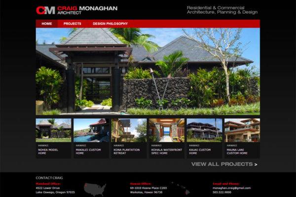 Craig Monaghan Website